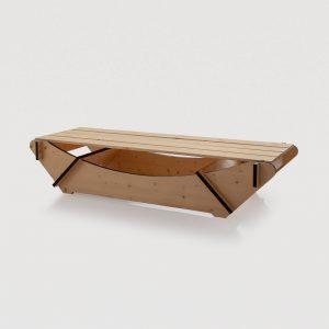 Lettino in legno smontabile - 11107
