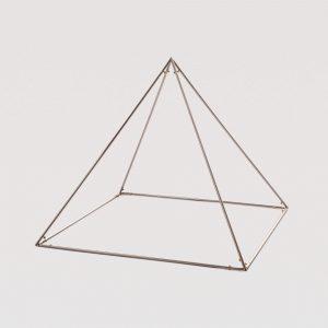 Piramide smontabile angolo evoluto - cromata